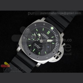 Panerai,Running seconds,Minute counter,Hour counter ,Leather