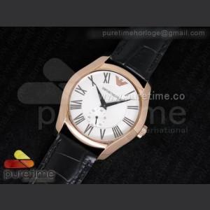 Armani,Hour counter ,Leather,handwind,21,600bph