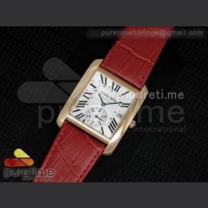 Cartier,Hour counter ,Leather,handwind,21,600bph