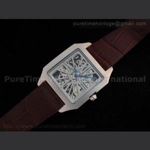 Cartier,Sapphire Glass,Sapphire,stainless steel,Strap