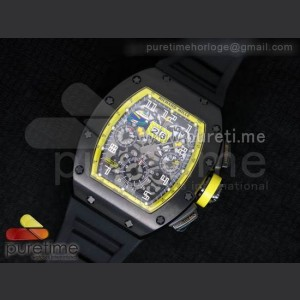 RichardMille,Sapphire,stainless steel,Strap,Rubber