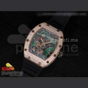 RichardMille,ETA7750,ceramic bezel ,Sapphire Glass,Sapphire